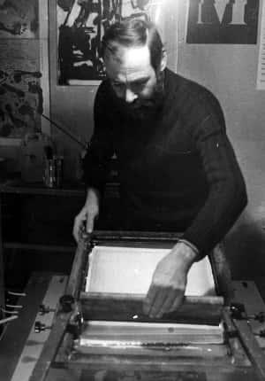 Cesare Cancellieri serigrafia